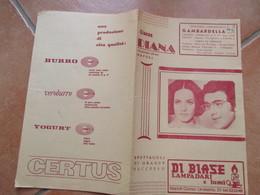 NAPOLI Cinema Diana Programma Film Il Ragazzo Che Sorride Nino Taranto Antonella Steni Pubblicità Epoca - Programs