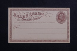 ETATS UNIS - Entier Postal Non Circulé - L 61674 - ...-1900