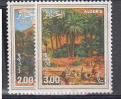 ALGERIE      1985     N °  852 / 853        COTE    4 € 15        ( E 221 ) - Algeria (1962-...)