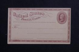 ETATS UNIS - Entier Postal Avec Repiquage Commercial Au Verso Non Circulé - L 61675 - ...-1900