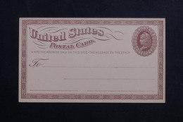 ETATS UNIS - Entier Postal Non Circulé - L 61677 - ...-1900