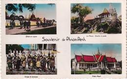 CAMBODGE 1955 CARTE POSTALE DE PHNOM PENH - Cambodia