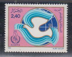 ALGERIE      1986     N °  878        COTE    1 € 90        ( E 223 ) - Algeria (1962-...)