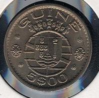 Guinea (port.), 5 Escudos 1973, UNC - Guinea-Bissau