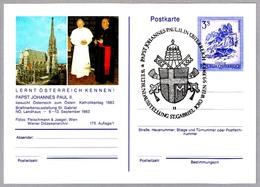 JUAN PABLO II VISITA A AUSTRIA 1983. Wien - Papas