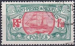 France S. P. M. TUC De 1922-28 YT 117A Oblitéré - St.Pierre & Miquelon