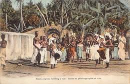 Ceylon   Sri Lanka  Hindu Pilgrims Fulfilling A Vow Païens En Pèlerinage Après Un Voeu    M 2950 - Sri Lanka (Ceylon)