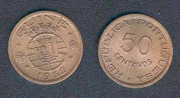 Guinea (portugiesisch), 50 Centavos 1952, Unzirkuliert - Guinea-Bissau