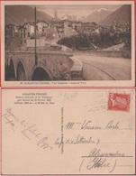 St. Martin Vesubie (FRA). Vue Generale. Viaggiata  1928 - Saint-Martin-Vésubie