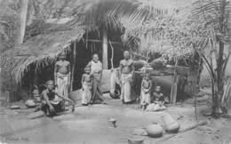 Ceylon   Sri Lanka Native Hut         M 2962 - Sri Lanka (Ceylon)