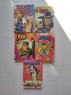 Lot BD Adulte Junior Super Zorro Atemi Feu Apaches El Bravo - Livres, BD, Revues