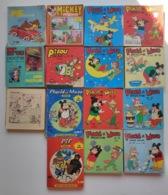 Lot BD Junior Enfant Placid Et Muzo Poche Pif Poche Jour Pifou Poche Mickey Poche - Livres, BD, Revues