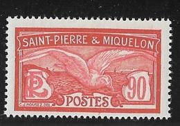 SPM MIQUELON YT 129 NEUF** TTB - Unused Stamps