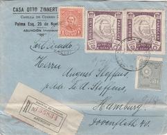 Paraguay Lettre Recommandée Asuncion Pour L'Allemagne 1934 - Paraguay