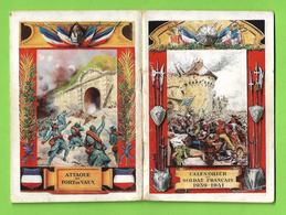 Ww2 Calendrier Du Soldat Français 1939-1941 Illustré 48 Pages 9.5x14 Cm Imp Bonnardel Paris Pub Tabac - 1939-45