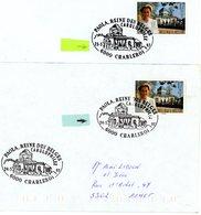 A VOIR !!! (Paola) Sur Lettres & Feuillet Avec 3 Cachets DIFFERENTS De Prévente & 1er Jour Vente (voir 3 Scan & Descr) - Postmark Collection