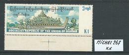 BURMA MICHEL 267 Postfrisch Siehe Scan - Myanmar (Burma 1948-...)