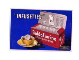 Buvard Infusettes Thé Filtrantes Boldoflorine Sachet Tisane Foie Intestin - Café & Thé