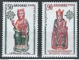 ANDORRE EUROPA 1974 YVERT 237-28 - Ongebruikt