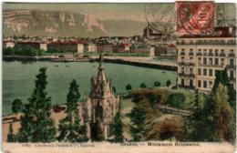 61lh 1708 CPA - GENEVE - MONUMENT BRUNSWICK - GE Genève