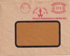 ALLEMAGNE 1937 LETTRE EMA DE GERA-ZWÖTZEN - Germany