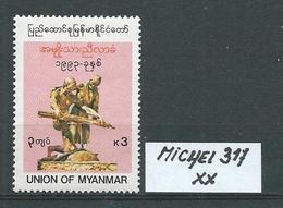 MYANMAR MICHEL 317 Postfrisch Siehe Scan - Myanmar (Burma 1948-...)