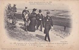 CP 51 Marne Berru Mamelon Fêtes Franco-russes 1901 Nicolas II Impératrice Loubet Crozier LL - Autres Communes
