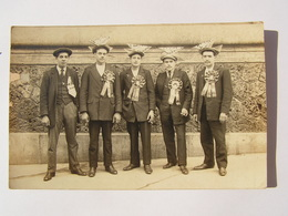 CPA WW1 CARTE PHOTO LES CONSCRITS REF A 57 - Guerra 1914-18