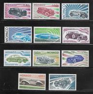 MONACO ( MC7 -191 ) 1975  N° YVERT ET TELLIER  N° 1018/1028   N** - Mónaco