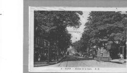 Dijon.Avenue De La Gare.animée.Livraison De Boissons. - Dijon
