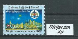 MYANMAR MICHEL 323 Postfrisch Siehe Scan - Myanmar (Burma 1948-...)