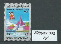 MYANMAR MICHEL 332 Postfrisch Siehe Scan - Myanmar (Burma 1948-...)