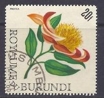Burundi - Flora, Flowers, Protea - Used - Burundi