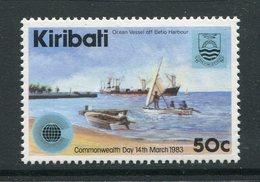 Kiribati 1983 Commonwealth Day - 50c Value - Wmk. Reading Upwards - MNH (SG 199w) - Kiribati (1979-...)