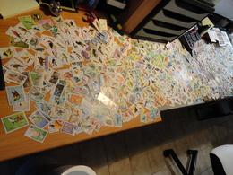 Gros Lot De 620 Grammes De Milliers De Timbres Thématiques Oiseaux De Tous Pays - 30 Scans - Des Multiples - B/TB - - Postzegels