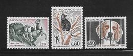 MONACO ( MC7 -198 ) 1975  N° YVERT ET TELLIER  N° 1031/1033   N** - Mónaco