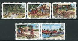 Kiribati 1983 Copra Industry Set MNH (SG 205-09) - Kiribati (1979-...)
