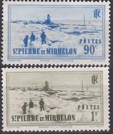 France S. P. M. TUC De 1939-40 YT 200-201 Neufs - Unused Stamps