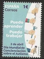 2020-ED. 5399 -Día Mundial De Concienciación Sobre El Autismo 2020- NUEVO - 2011-... Unused Stamps