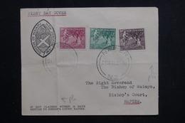 NOUVELLE ZÉLANDE - Enveloppe FDC En 1956 - Enfance, Voyagé Pour Napier - L 61699 - FDC