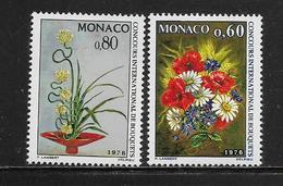MONACO ( MC7 - 202 ) 1975  N° YVERT ET TELLIER  N° 1035/1036   N** - Mónaco