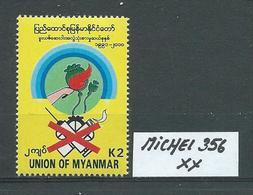 MYANMAR MICHEL 356 Postfrisch Siehe Scan - Myanmar (Burma 1948-...)