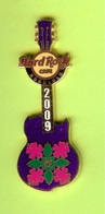 Pin's Hard Rock Café Honolulu Hibiscus Guitare - HRC04 - Musique