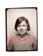 Photo Portrait Identité Fille Enfant 5x4 Cm - Personnes Anonymes