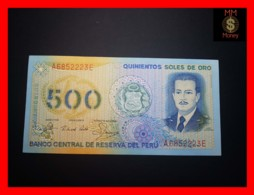 PERU 500 Soles De Oro 18.3.1982  P. 125 A    UNC - Perù