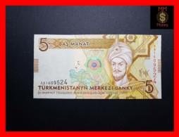 TURKMENISTAN 5 Manat 2009 P. 23  UNC - Turkménistan