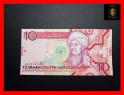 TURKMENISTAN 10 Manat 2009 P. 24  UNC - Turkménistan