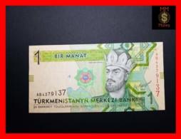 TURKMENISTAN 1 Manat 2012 P. 29 A   UNC - Turkménistan