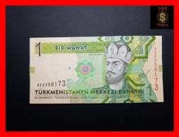 TURKMENISTAN 1 Manat 2014 P. 29 B  UNC - Turkménistan