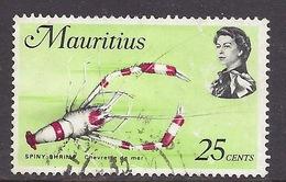 Mauritius - Marine Life, Spiny Shrimp - Used - Maurice (1968-...)